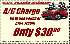 Ed's Rapid Sticker - Coupon1